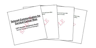 Tailored Communication for Cervical Cancer Risk Thumbnail
