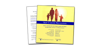 Skin Cancer Prevention: Useful Information for Parents from the Fields of Behavioral Science and Dermatology Thumbnail